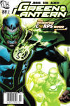 Cover for Green Lantern (DC, 2005 series) #22 [Newsstand]
