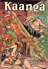Cover Thumbnail for Kaänga Comics (H. John Edwards, 1950 ? series) #22 [6d Price Variant]