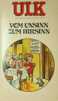 Cover Thumbnail for Ulk (BSV - Williams, 1978 series) #14 - Vom Unsinn zum Irrsinn