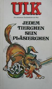 Cover Thumbnail for Ulk (BSV - Williams, 1978 series) #12 - Jedem Tierchen sein Pläsierchen