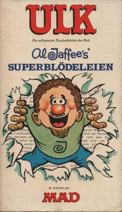 Cover for Ulk (BSV - Williams, 1978 series) #8 - Al Jaffee´s Superblödeleien