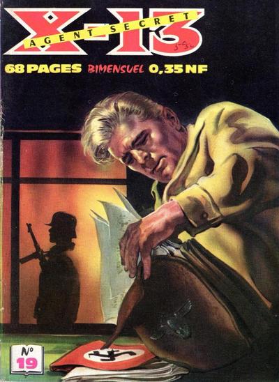 Cover for X-13 Agent Secret (Impéria, 1960 series) #19