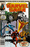 Cover for The Marvel Saga the Official History of the Marvel Universe (Marvel, 1985 series) #20 [Newsstand]