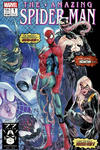 Cover Thumbnail for Amazing Spider-Man (2018 series) #1 (802) [Variant Edition - 'New Mutants' Style Logo - Jamal Campbell Cover]