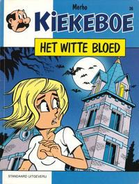 Cover Thumbnail for Kiekeboe (Standaard Uitgeverij, 1990 series) #36 - Het witte bloed
