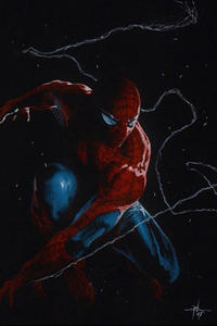 Cover Thumbnail for Amazing Spider-Man (Marvel, 2018 series) #1 (802) [Variant Edition - Gabriele Dell'Otto Virgin Cover]