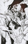 Cover for Dejah Thoris (Dynamite Entertainment, 2019 series) #2 [Black and White Virgin Erica Henderson Bonus FOC]