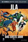 Cover for DC Comics Graphic Novel Collection (Eaglemoss Publications, 2015 series) #10 - JLA - Das erste Jahr 1
