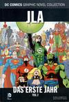 Cover for DC Comics Graphic Novel Collection (Eaglemoss Publications, 2015 series) #11 - JLA - Das erste Jahr 2