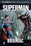 Cover for DC Comics Graphic Novel Collection (Eaglemoss Publications, 2015 series) #28 - Superman - Brainiac