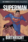 Cover for DC Comics Graphic Novel Collection (Eaglemoss Publications, 2015 series) #40 - Superman - Birthright 1