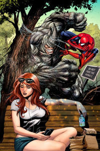 Cover for Amazing Spider-Man (Marvel, 2018 series) #3 (804) [Variant Edition - Return of the Fantastic Four - Steve Epting Cover]