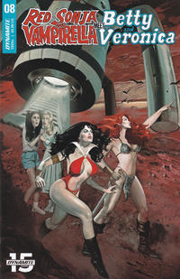 Cover Thumbnail for Red Sonja and Vampirella Meet Betty and Veronica (Dynamite Entertainment, 2019 series) #8 [Cover A Fay Dalton]