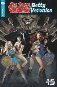 Cover Thumbnail for Red Sonja and Vampirella Meet Betty and Veronica (Dynamite Entertainment, 2019 series) #6 [Cover A Fay Dalton]