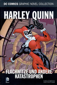 Cover Thumbnail for DC Comics Graphic Novel Collection (Eaglemoss Publications, 2015 series) #9 - Harley Quinn - Flachwitze und andere Katastrophen
