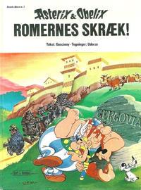 Cover Thumbnail for Asterix (Egmont, 1969 series) #7 - Romernes skræk!