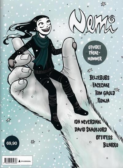 Cover for Nemi (Gyldendal Norsk Forlag, 2018 series) #178 [Bokhandelutgave]