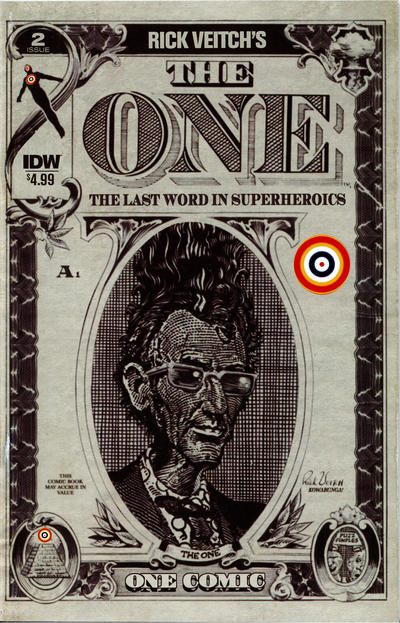 Cover for Rick Veitch's The One (IDW, 2018 series) #2