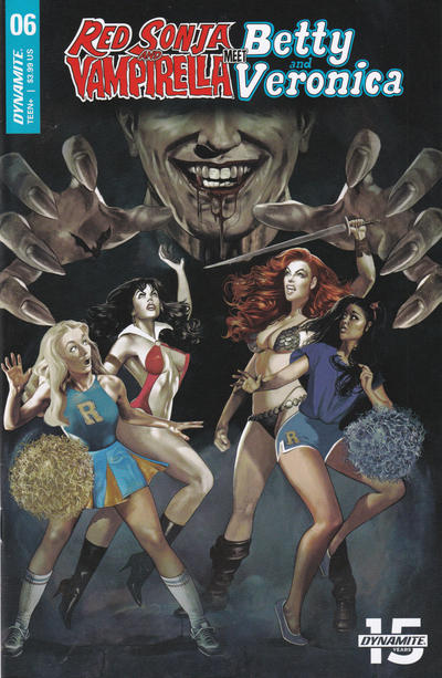 Cover for Red Sonja and Vampirella Meet Betty and Veronica (Dynamite Entertainment, 2019 series) #6 [Cover A Fay Dalton]