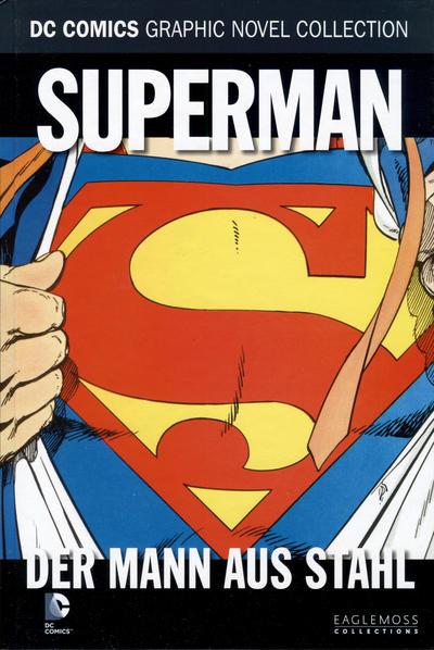Cover for DC Comics Graphic Novel Collection (Eaglemoss Publications, 2015 series) #13 - Superman - Der Mann aus Stahl