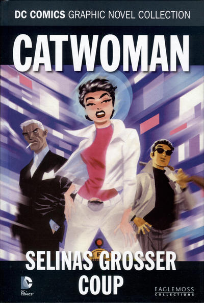 Cover for DC Comics Graphic Novel Collection (Eaglemoss Publications, 2015 series) #29 - Catwoman - Selinas grosser Coup