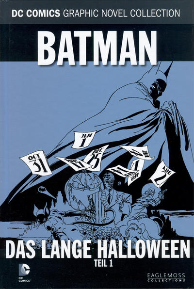 Cover for DC Comics Graphic Novel Collection (Eaglemoss Publications, 2015 series) #19 - Batman - Das lange Halloween 1