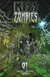 Cover Thumbnail for KISS: Zombies (2019 series) #1 [FOC Incentive Ken Haeser]