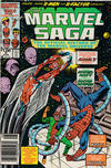 Cover Thumbnail for The Marvel Saga the Official History of the Marvel Universe (1985 series) #9 [Newsstand]