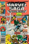 Cover Thumbnail for The Marvel Saga the Official History of the Marvel Universe (1985 series) #10 [Newsstand]