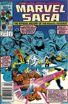 Cover for The Marvel Saga the Official History of the Marvel Universe (Marvel, 1985 series) #14 [Newsstand]