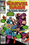 Cover for The Marvel Saga the Official History of the Marvel Universe (Marvel, 1985 series) #19 [Newsstand]