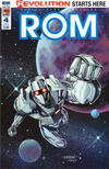 Cover for ROM (IDW, 2016 series) #4 [Subscription Cover C (L. Wallace)]