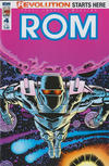 Cover for ROM (IDW, 2016 series) #4 [Subscription Cover A (A.Milgrom)]