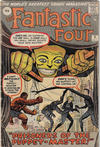 Cover for Fantastic Four (Marvel, 1961 series) #8 [British]