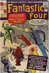 Cover for Fantastic Four (Marvel, 1961 series) #20 [British]