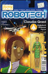 Cover for Robotech (Titan, 2017 series) #6 [Cover B - Blair Shedd 'Action Figure']