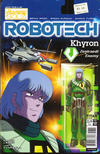 Cover for Robotech (Titan, 2017 series) #7 [Cover B - Blair Shedd 'Action Figure']