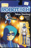 Cover for Robotech (Titan, 2017 series) #8 [Cover B - Blair Shedd 'Action Figure']