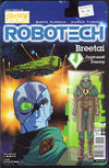 Cover for Robotech (Titan, 2017 series) #9 [Cover B - Blair Shedd 'Action Figure']