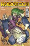 Cover for Robotech (Titan, 2017 series) #10 [Cover A - Simon Roy]