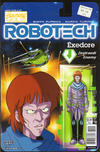 Cover for Robotech (Titan, 2017 series) #10 [Cover B - Blair Shedd 'Action Figure']