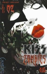 Cover Thumbnail for KISS: Zombies (Dynamite Entertainment, 2019 series) #2 [Cover A Arthur Suydam]