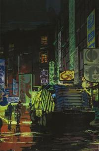 Cover Thumbnail for Blade Runner 2019 (Titan, 2019 series) #1 [Syd Mead Virgin Art]