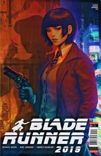 Cover Thumbnail for Blade Runner 2019 (Titan, 2019 series) #1 [Cover A - Artgerm]
