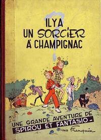 Cover Thumbnail for Les Aventures de Spirou et Fantasio (Dupuis, 1950 series) #2 - Il y a un sorcier à Champignac