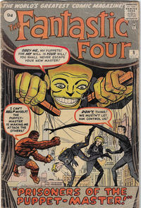 Cover Thumbnail for Fantastic Four (Marvel, 1961 series) #8 [British]