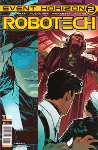 Cover Thumbnail for Robotech (Titan, 2017 series) #22 [Cover A]