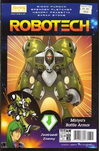 Cover Thumbnail for Robotech (Titan, 2017 series) #23 [Cover B]
