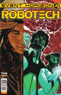 Cover Thumbnail for Robotech (Titan, 2017 series) #24 [Cover A]