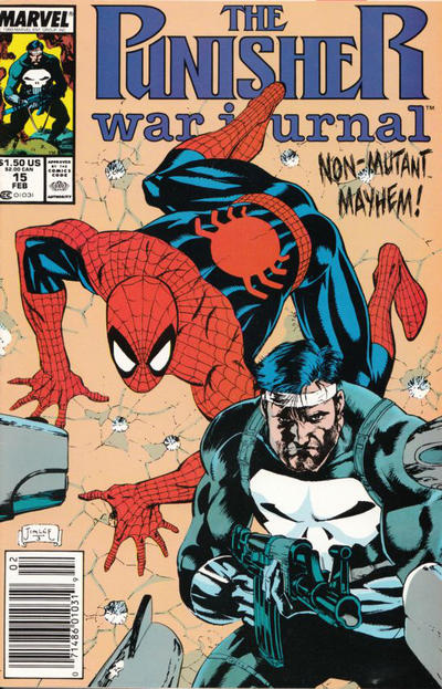 Cover for The Punisher War Journal (Marvel, 1988 series) #15 [Newsstand]